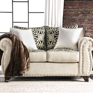 Burcham Contemporary Loveseat by Darby Ho..