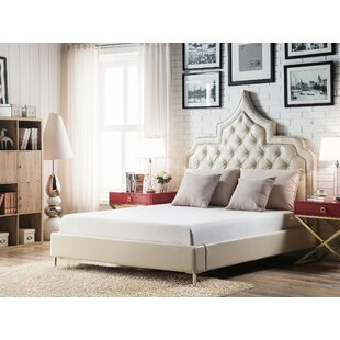 Iconic Home Casablanca Upholstered Panel Bed