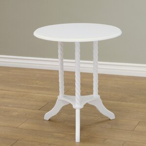 Mega Home Classica Pedestal End Table