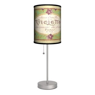 Lamp-In-A-Box Vintage Labels Violette 20