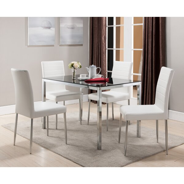 Wade Logan Allston Rectangle Dining Table & Reviews | Wayfair