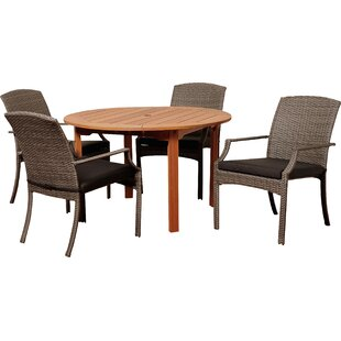 Brighton 5 Piece Dining Set