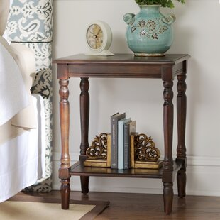 Hadenson End Table by Three Posts