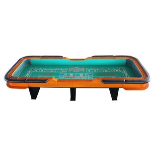 Deals 12' Deluxe Craps Dice Table with Diamond Rubber By IDS Online Corp