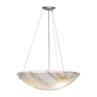Meyda Tiffany 3-Light Bowl Pendant