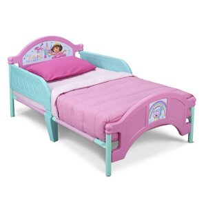 Dora Convertible Toddler Bed by Delta Children