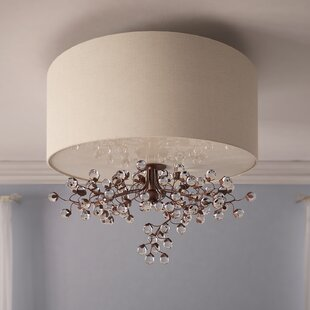 Darby Home Co Davidson 3-Light Semi Flush Mount