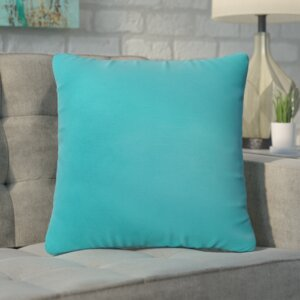 Branan Square Knife Edge Indoor/Outdoor Throw Pillow (Set of 2)