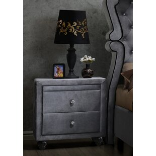 Conard 2 Drawer Nightstand