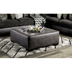 Regil Tufted Ottoman by Ebern Designs