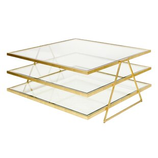 Worlds Away 3 Tier Coffee Table
