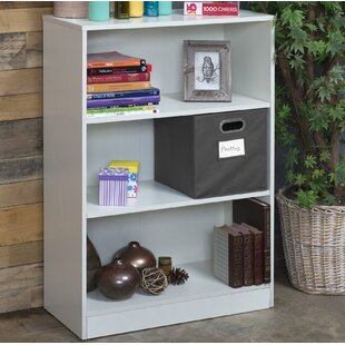 Price comparison Wood Standard Bookcase by Rebrilliant