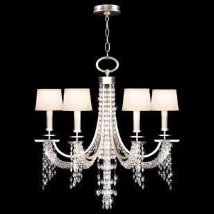Fine Art Lamps Cascades 6-Light Shaded Ch..