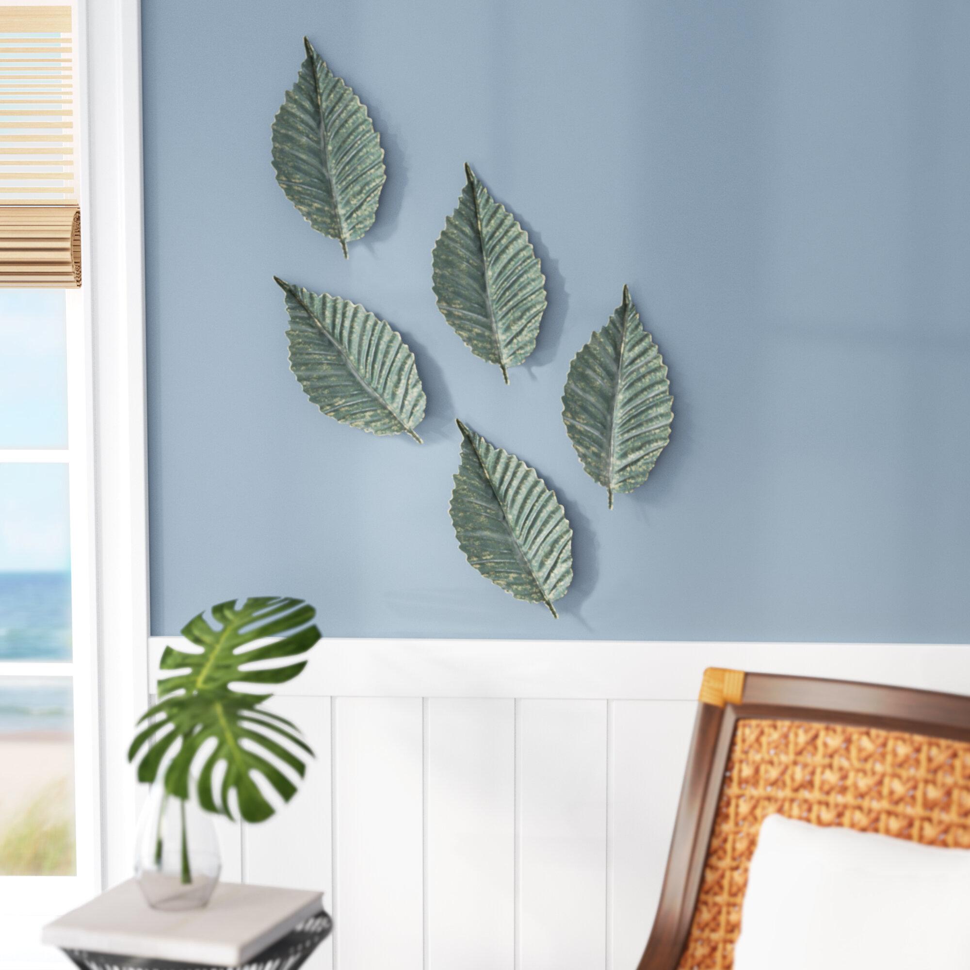 Decorative Brattea Leaf Wall Décor