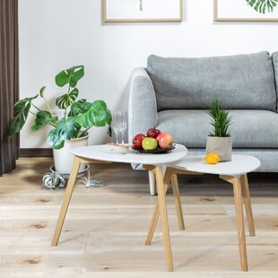 Bargain Hawn 2 Piece Nesting Tables by George Oliver