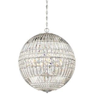 Palermo 6-Light Crystal Chandelier