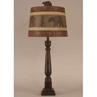 Rustic Living Square 32 Table Lamp