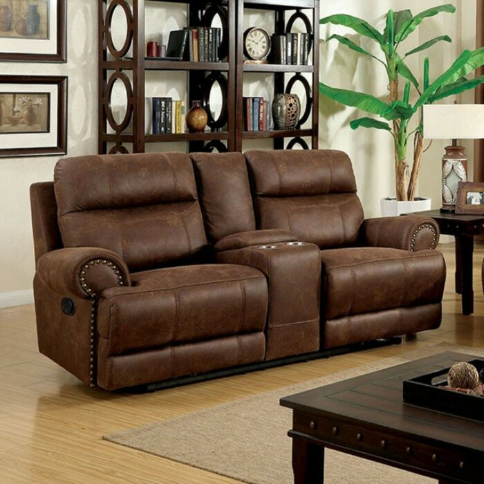 Amazing Pantazis Reclining Loveseat Pabps2019 Chair Design Images Pabps2019Com