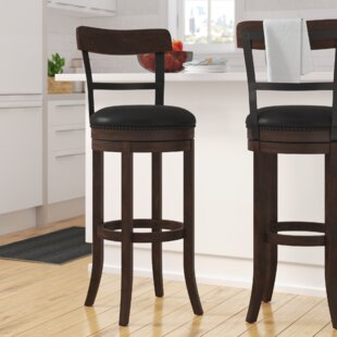 Shelbyville 30 Swivel Bar Stool Gracie Oaks