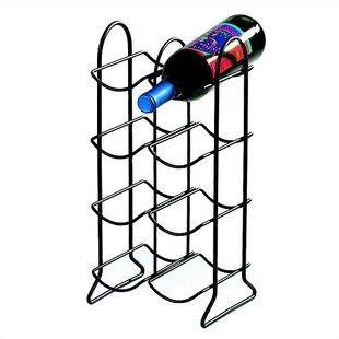 Spectrum Diversified Townhouse 8 Bottle Tabletop Wine Rack