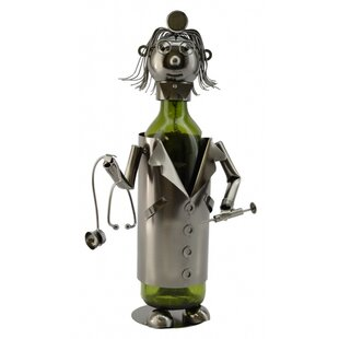 Lady Doctor 1 Bottle Tabletop Wine Rack b..