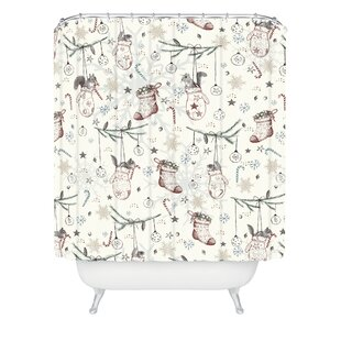 Silkeborg Heavenly Christmas Single Shower Curtain