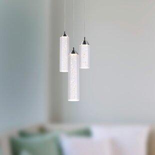 Wrought Studio Ardrie 3-light LED Cluster Pendant
