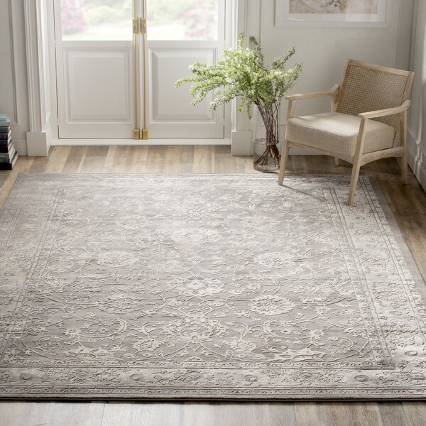 Kelly Clarkson Home Alexander Oriental Gray White Area Rug Reviews Wayfair