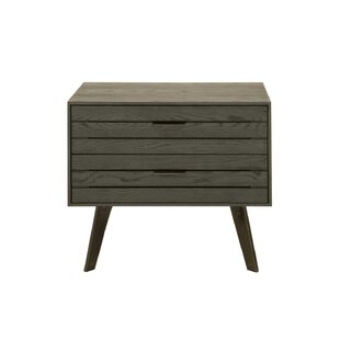 Union Rustic Mahore 2 Drawer Nightstand