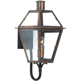 Lois Outdoor Wall Lantern By Laurel Foundry Modern Farmhouse Outdoor Lighting