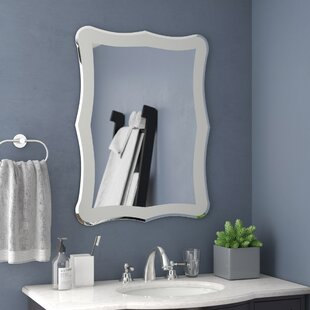 Find Logan Frameless Wall Mirror By Wrought Studio