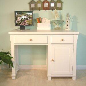 Hampton White Painted Computer Desk
