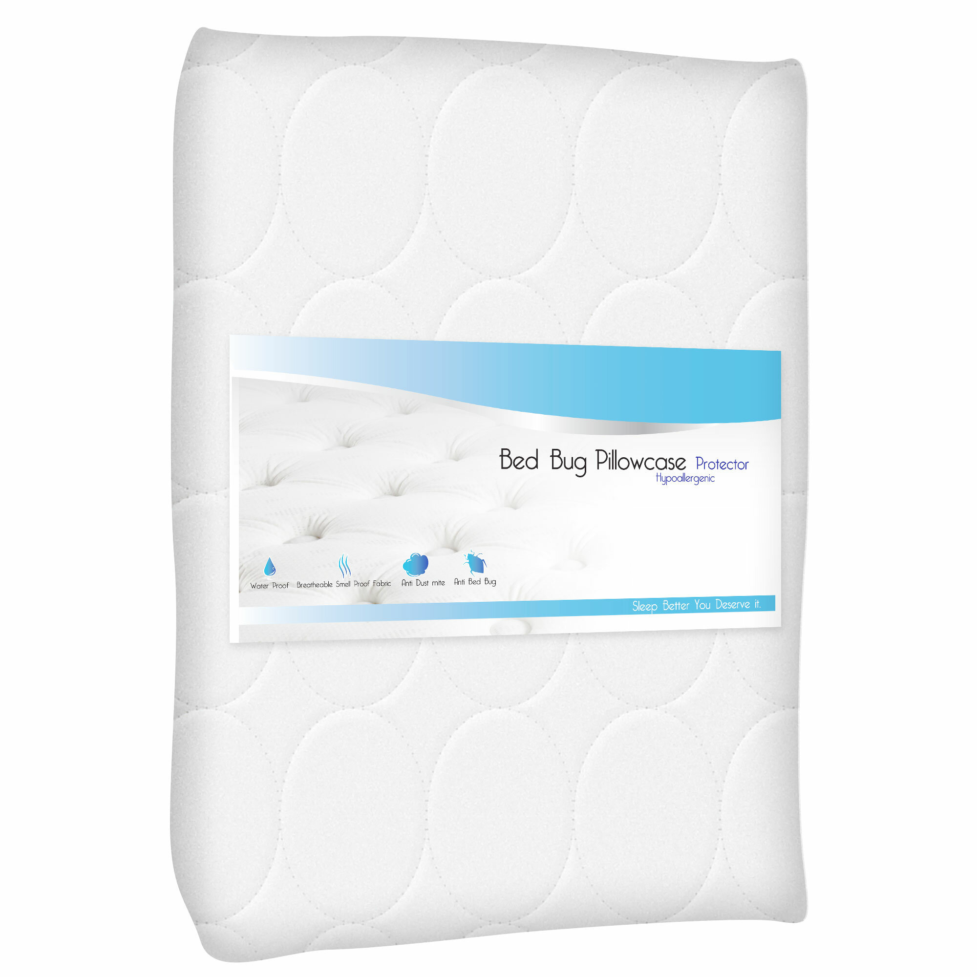bed protectors pillow products great home bay protector waterproof