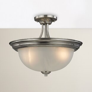 Gallimore 3-Light Semi Flush Mount by Darby Home Co