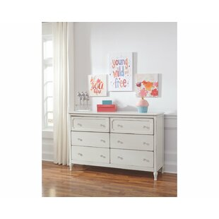 Derlyum 6 Drawer Double Dresser
