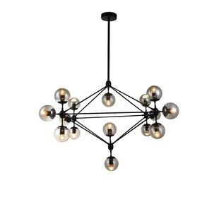 Ivy Bronx Arnoldsville 12-Light Geometric Chandelier