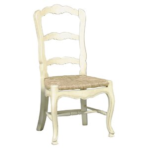 French Country Ladderback Solid Wood Dining Chair (Set of 2) by Furniture Classics LTD