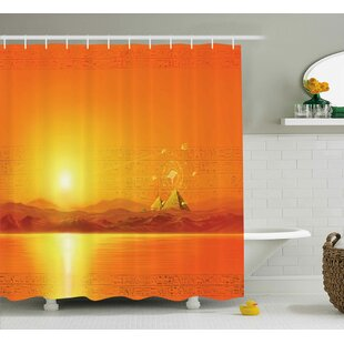 Andrew Geometry Symbol in Air Single Shower Curtain