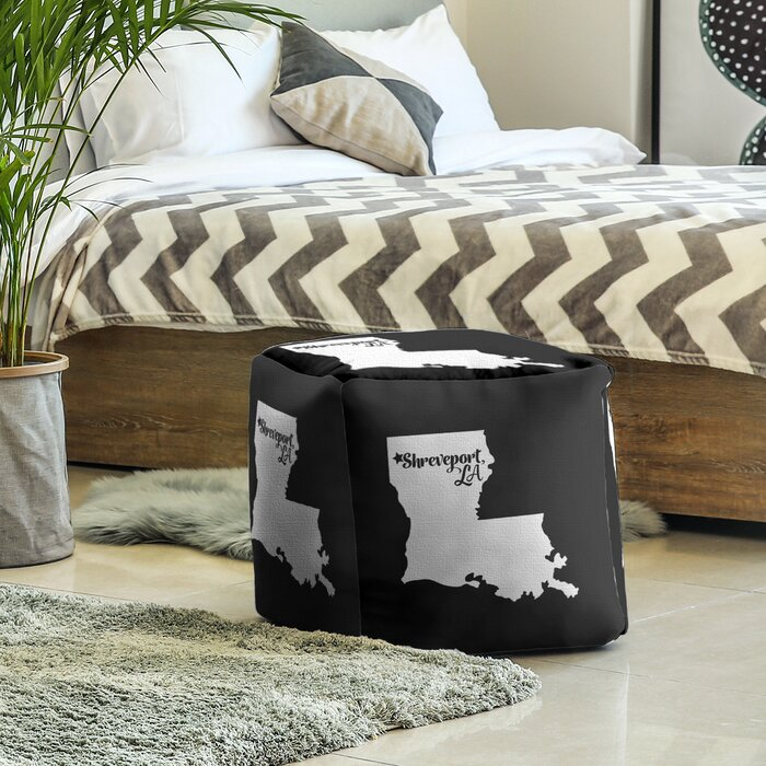 Shreveport Louisiana Cube Ottoman