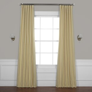 Freemansburg Blackout Thermal Rod Pocket Single Curtain Panel by Three Posts
