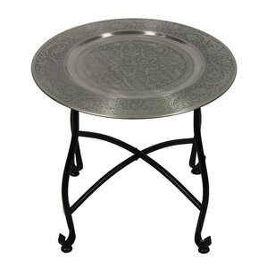 Moroccan End Table by ESSENTIAL D?COR & BEYOND, INC