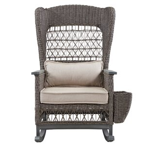 dogwood rocking chair with cushions