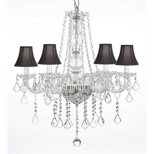 House of Hampton Kight 5-Light Shaded Chandelier