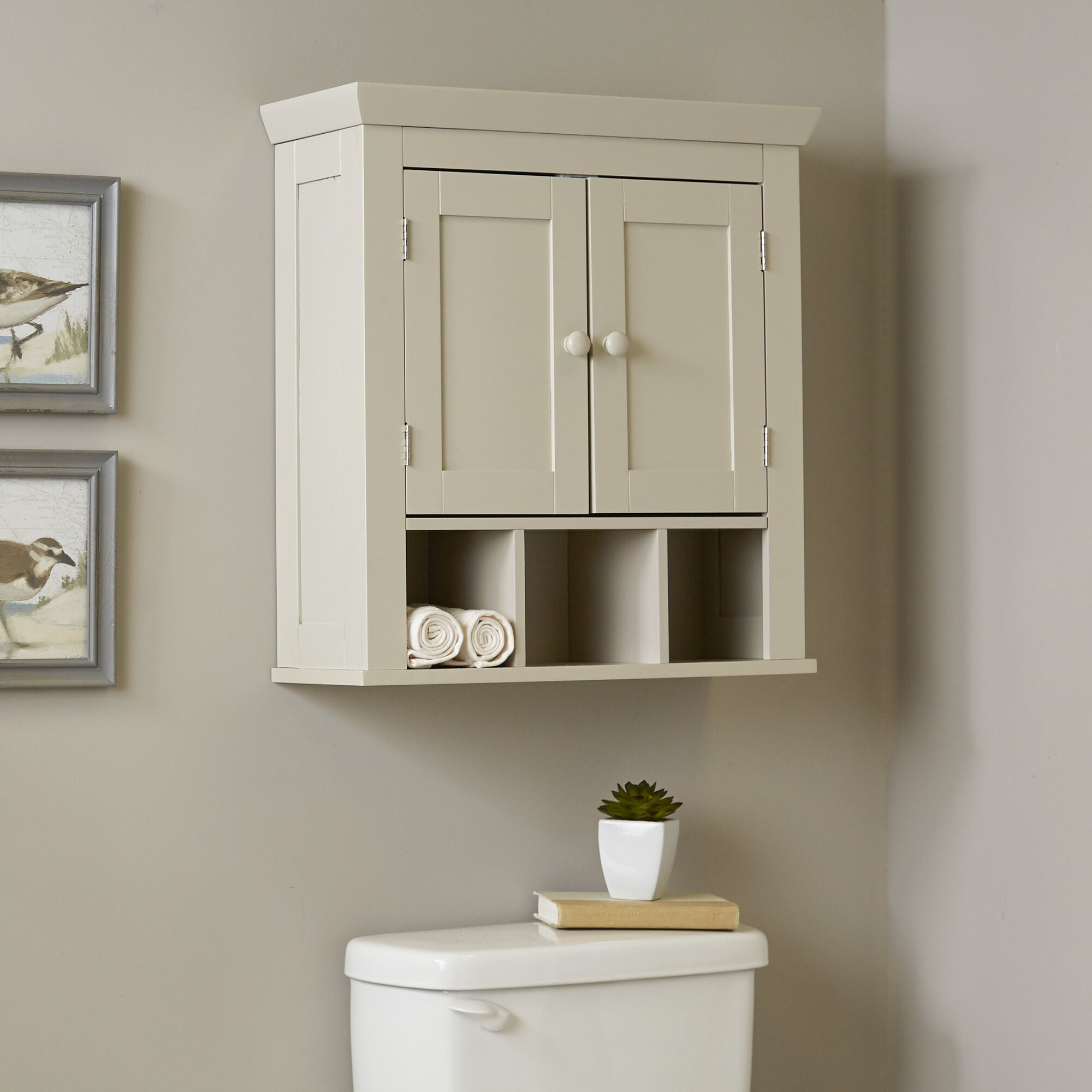 Birch Lane™ Caraway Bathroom Wall Cabinet & Reviews | Wayfair