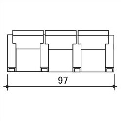 Celebrity Home Theater Row Seating Row of 3