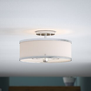 Latitude Run Cana Semi Flush Mount