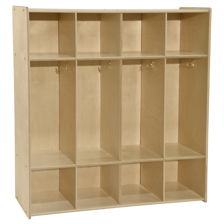 Wood Designs Contender 3 Tier 4 Wide Home Locker Wayfair