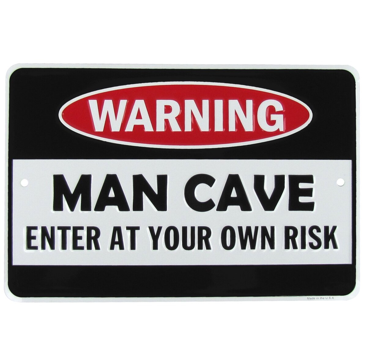 PP3567 WARNING ENTERING BERT/'S MAN CAVE Chic Sign Home Decor Funny Gift