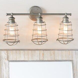 Read Reviews Leda 3-Light Vanity Light ByTrent Austin Design