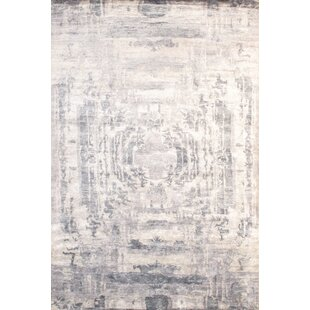 Affordable Hand-Knotted Beige/Black Area Rug ByPasargad NY